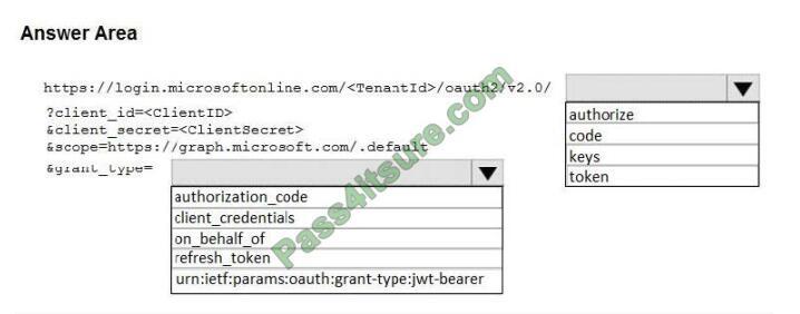 exampass ms-600 exam questions-q4