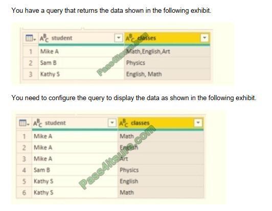 DA-100 exam questions-q13
